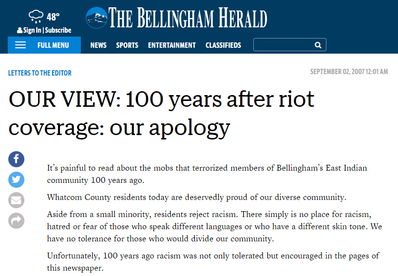 Bellingham-Herald-100-years-after-riot-coverage-our-apology